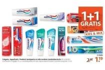colgate aquafresh prodent tandpasta en alle merken tandenborstels