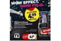 wilkinson beauty edition scheerapparaat
