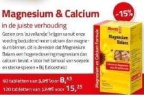 magnesium en calcium