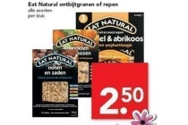eat natural ontbijtgranen of repen