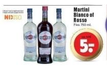 martini bianco of rosso