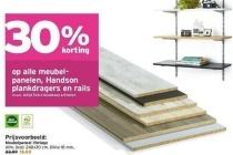 meubelpanelen handsonplankdragers en rails