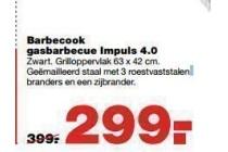 barbecook gasbarbecue impuls 4 0 nu eur299 per stuk