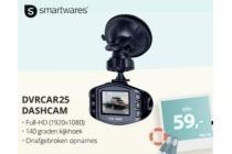 smartwares dvrcar25 dashcam