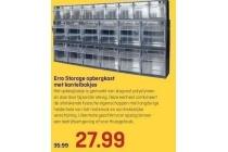 erro storage opbergkast met kantelbakjes