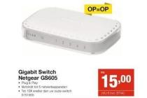 gigabit switch netgear gs605