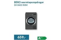 beko warmtepompdroger dh 8433 rxm