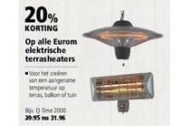 alle eurom elektrische terrasheaters