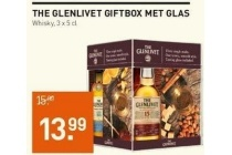 the glenlivet giftbox met glas