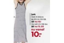 jurk nu vanaf 10 euro