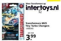 transformers the last knight tiny turbo changers figuur
