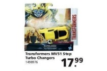 transformers mv51 step turbo changers