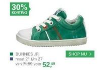bunnies jr groen