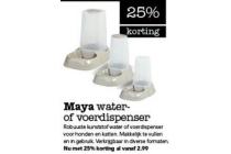 maya water of voerdispencer