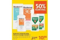 biodermal zonebescherming aftersun en jungle formula