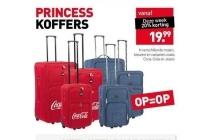 princess koffers 20 korting