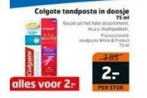 colgate tandpasta