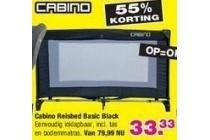 cabino reisbed basic black
