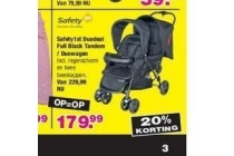 safety1st duodeal full black tandem