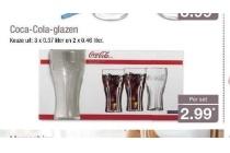 coca cola glazen