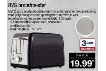 rvs broodrooster