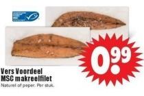 vers voordeel msc makreelfilet