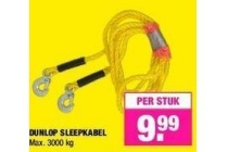 dunlop sleepkabel