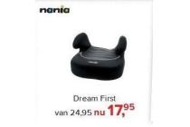nania dream first