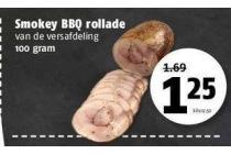 smokey bbq rollade