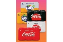coca cola en fanta 6 packs blikjes