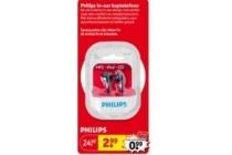 philips in ear koptelefoon