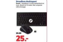 draadloze desktopset
