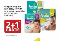 pampers baby dry new baby active fit or premium protection