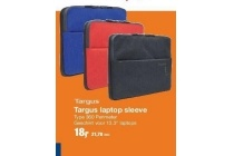 targus laptop sleeve