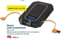 xtorm solar powerbank