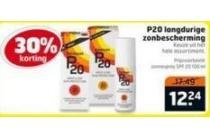 p20 langdurige zonbescherming