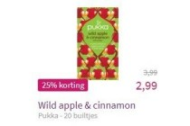 pukka wild apple en cinnamon