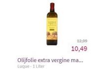 luque olijfolie extra vergine marasca