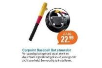 carpoint baseball bat stuurslot