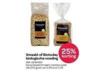smaakt of biotoday biologische voeding