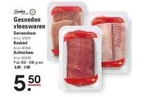 gesneden vleeswaren
