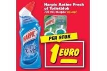 harpic active fresh of toiletblok