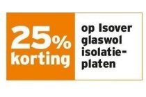 isover glaswol isolatie platen