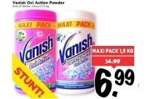 vanish oxi action power