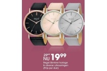 regal slimline horloge