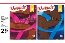 verkade chocolade letters