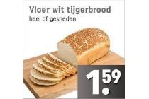 vloer wit tijgerbrood