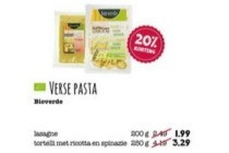 bioverde verse pasta