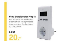 kopp energiemeter plug in