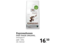 espressobonen
